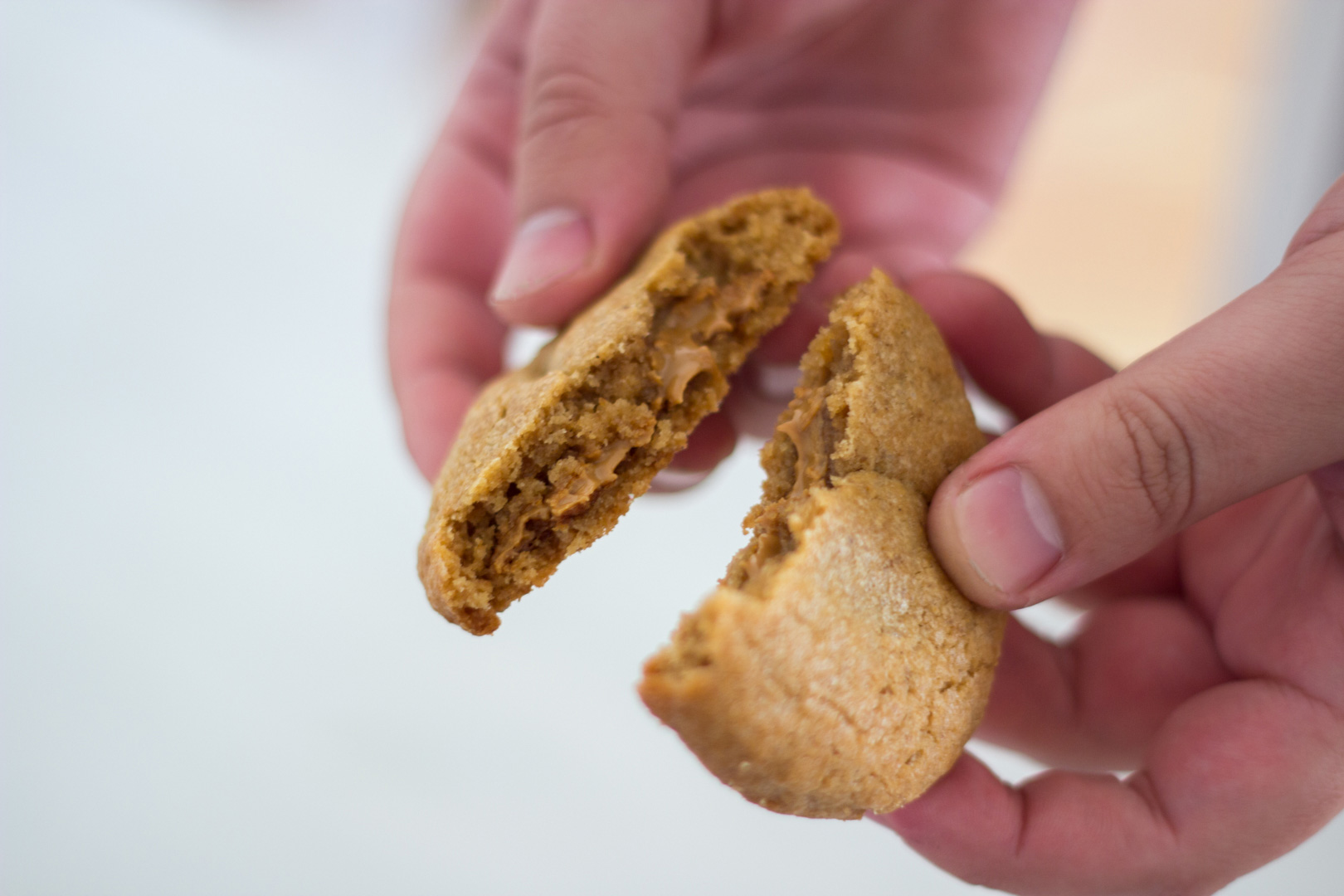 (Recipe) Biscoff Biscuits with a Fluid Core