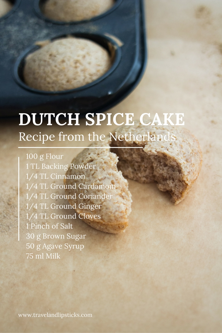 (Recipe) Vegan Dutch Spice Cake