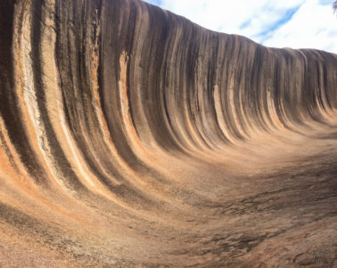 Visiting Australian Outback - Wave Rock