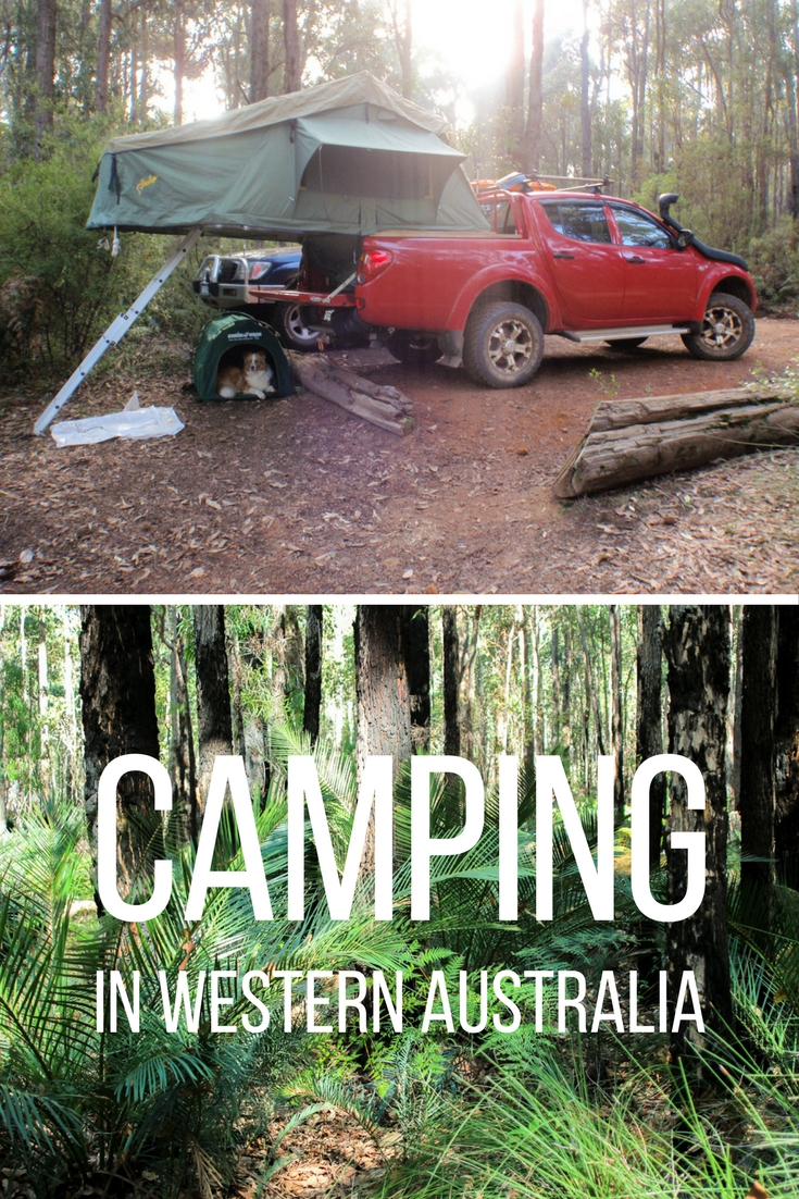 Camping in Western Australia