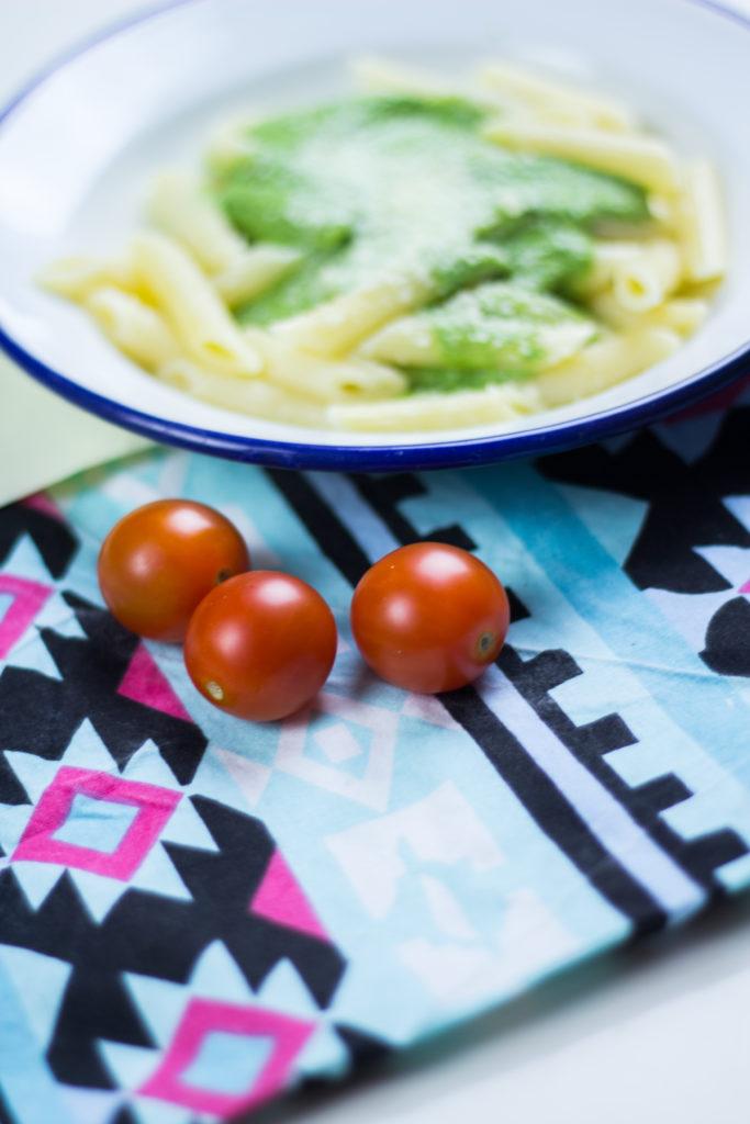 (Recipe) Tallarin Verde from Peru