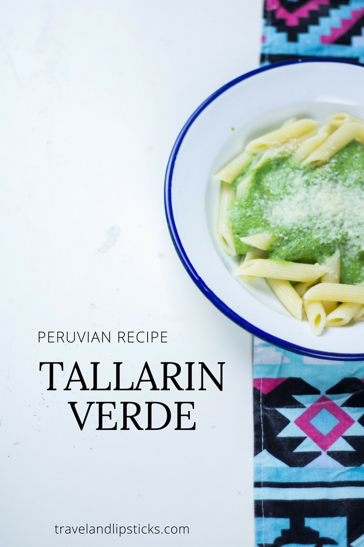 (Recipe) Tallarin Verde from Peru