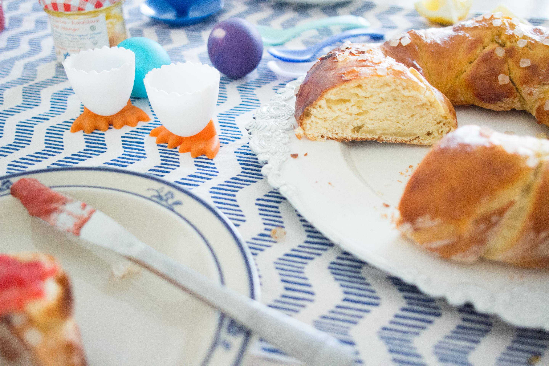 (Recipe) Easter Yeast Wreath - German Hefezopf