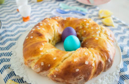 (Recipe) Easter Yeast Wreath - German Hefezopf