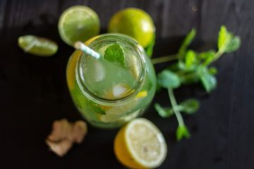 (Recipe) Dominican Ginger-Lemon Iced Tea