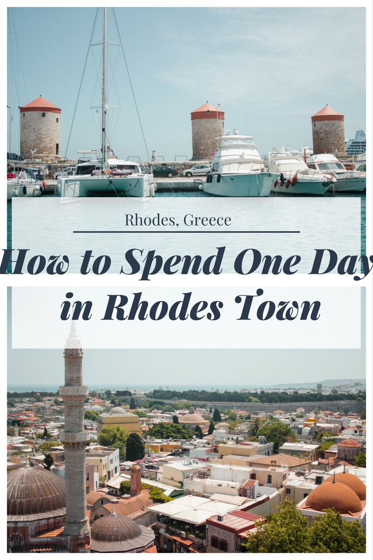How to Spend one Day in Rhodes Town