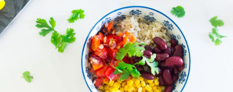 (Recipe) Fresh Vegan Burrito Bowl