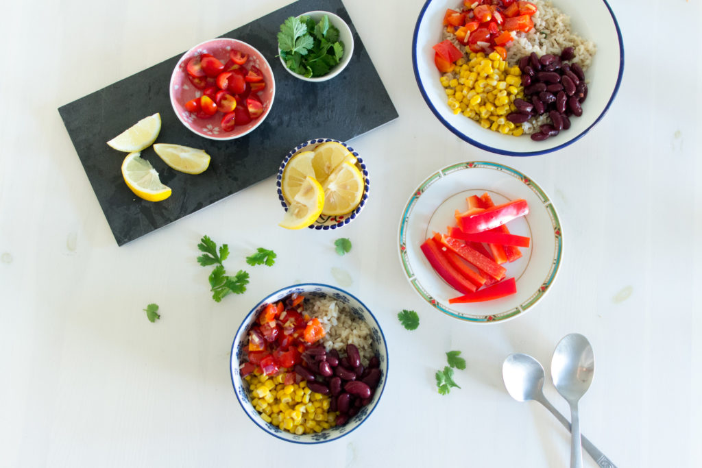 (Recipe) Fresh Vegan Burrito Bowl