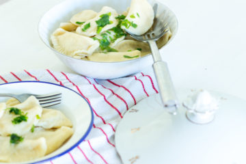 (Recipe) Polish Pierogi with Potato Filling